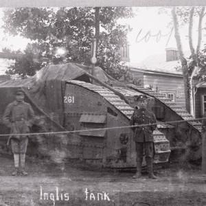 Танк Великобритании MK-V ( «Марк Пять» ) в Северо-Западной Армии Юденича.