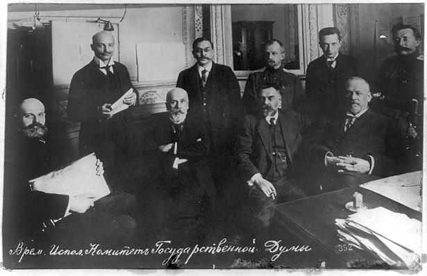 Временный комитет Государственной думы из 13 человек. В ночь на 28 февраля (13 марта) Временный комитет объявил, что берет власть в свои руки.